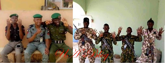 Police, military investigate officers who endorsed Buhari