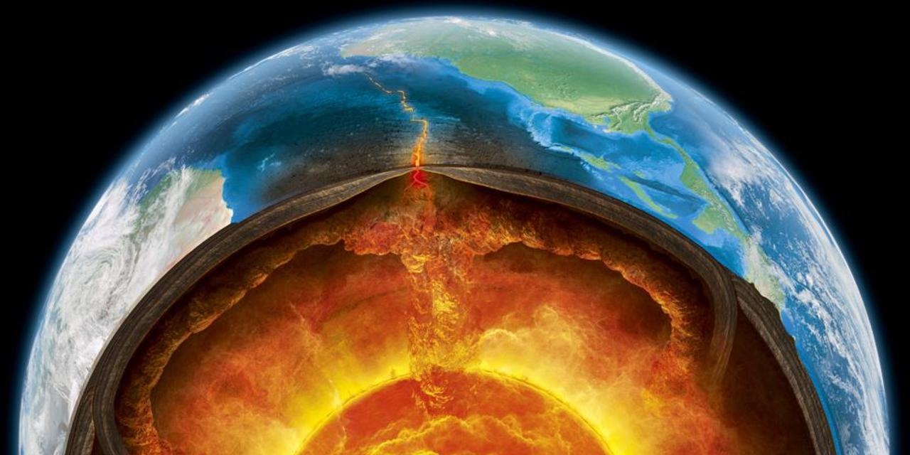 Earth's Inner Mantle, inner core, outer core