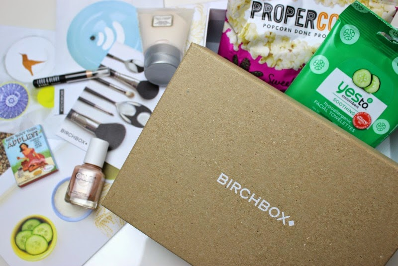 A look inside the April Birchbox UK box