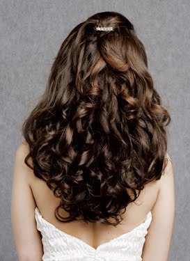 Hair Style Wedding Hairstyles Down Curly