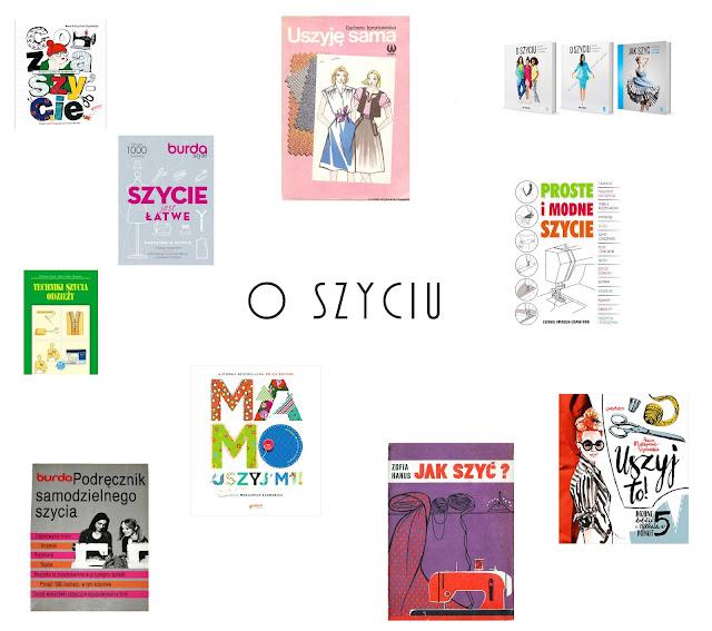 Książki o szyciu, konstrukcji ubioru i modelowaniu - wielki spis