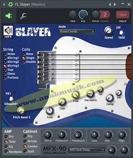 Cara Membuat Suara Gitar Di FL Studio (Fruity Loops)