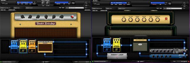 Programa Fender FUSE para Aplificador Fender Mustang