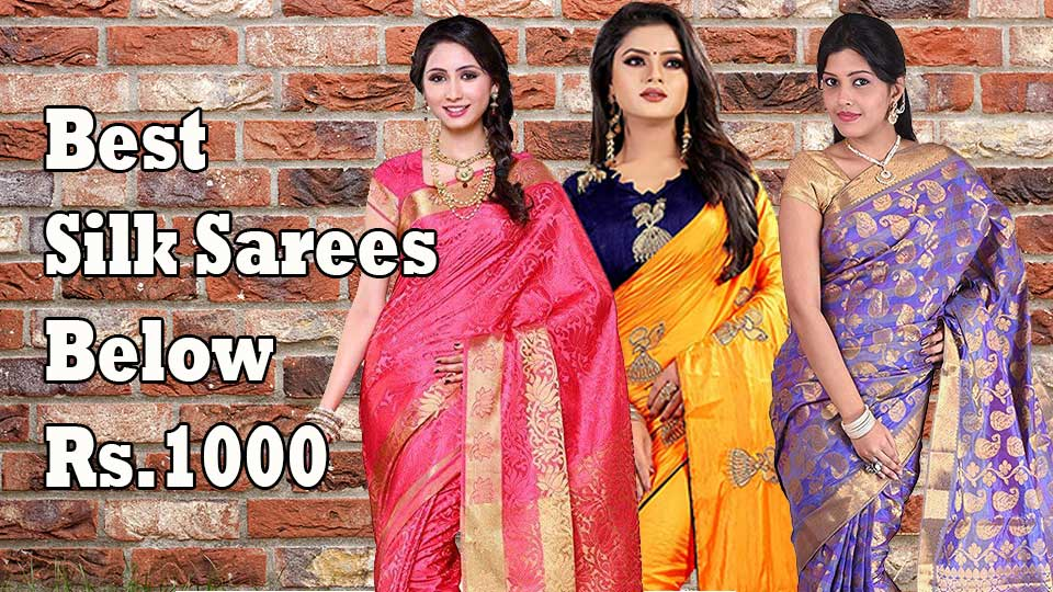 Designer silk sarees online shopping cash on delivery below 1000