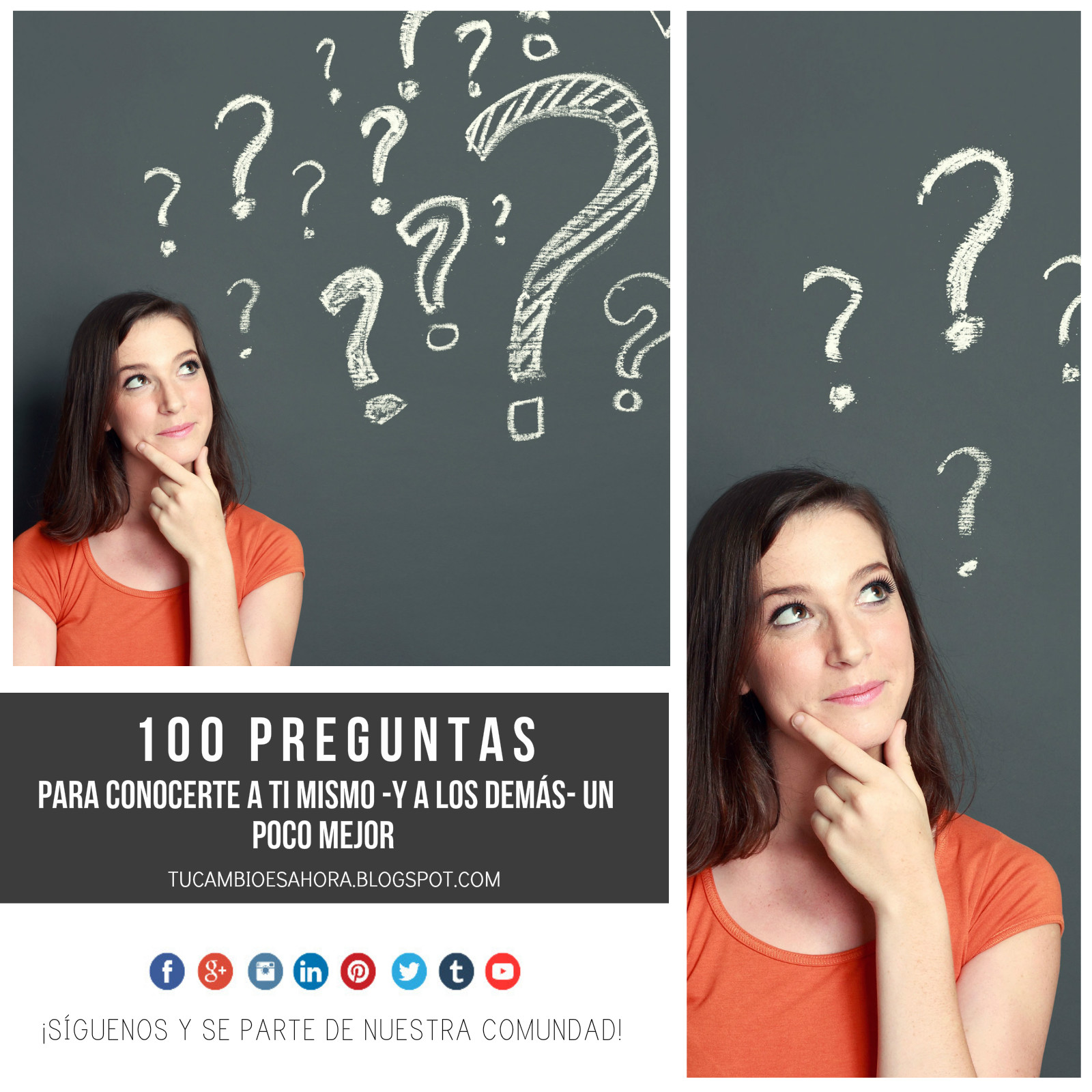 100 Preguntas Para Conocerte A Ti Mismo Y A Los Demás Un Poco Mejor Tu Cambio Es Ahora