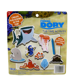 finding dory bath tub time toys activity