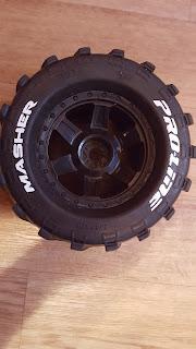 колеса для радиоуправляемой модели