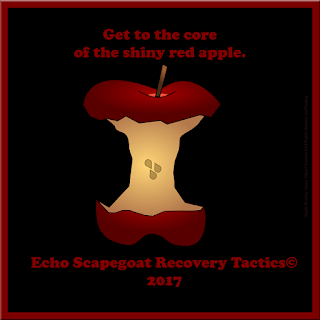Get to the core of the shiny red apple. Narcissistic Psychological Manipulators Quote
