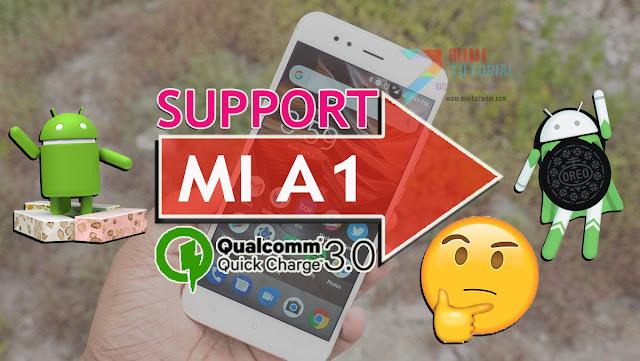 Benarkah Setelah Update ke Android OREO: Xiaomi Mi A1 Support Quick Charge 3.0? Mari Kita Buktikan Sendiri!