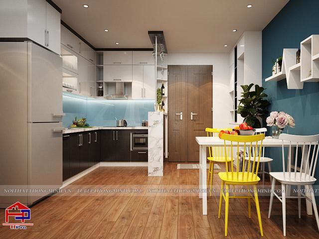 nhà bếp 20m2