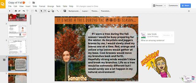 "Using Bitmoji for student feedback in Google Drive: The ""new"" sticker"
