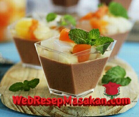Puding sutra coklat, Resep Puding Sutra Coklat, Cara membuat puding sutra coklat,