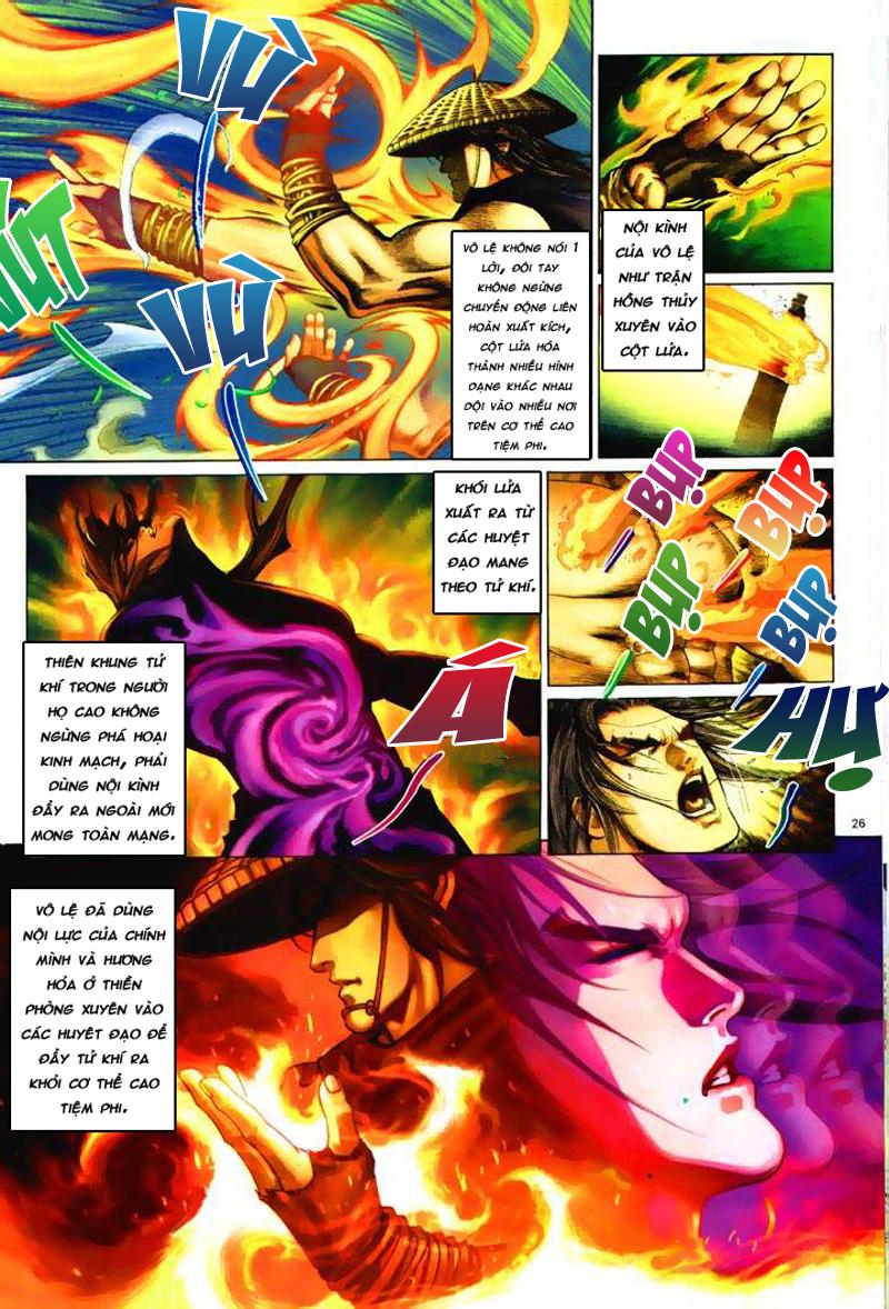 Anh hùng vô lệ Chap 6: Anh hùng hữu lệ trang 26