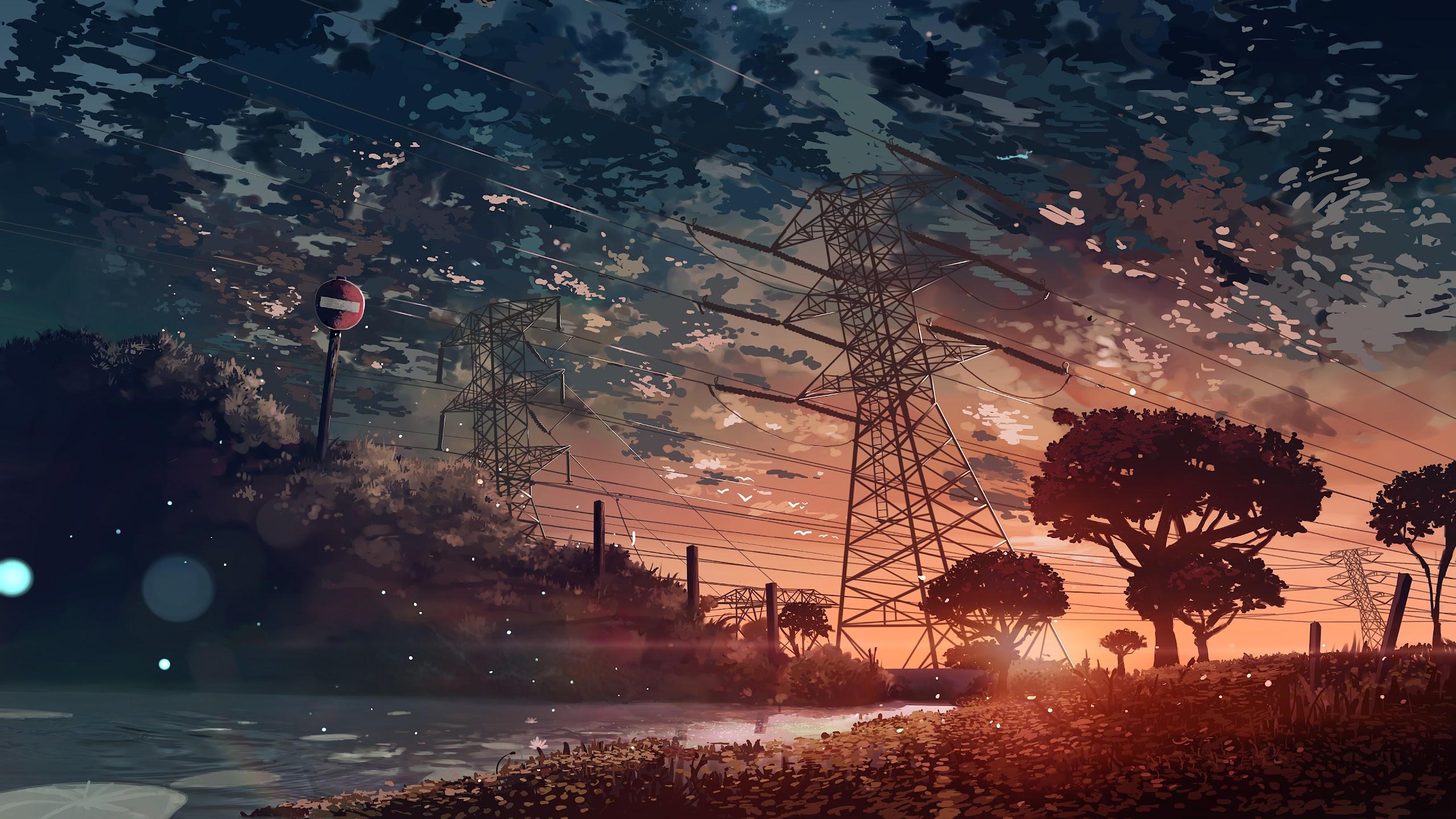 16 Anime Scenery Desktop Wallpaper Hd Anime Wallpaper