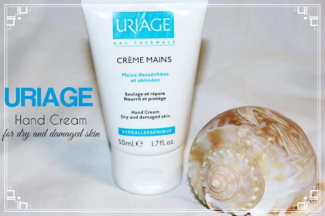 Отзыв: Защитный и восстанавливающий крем для рук от URIAGE.