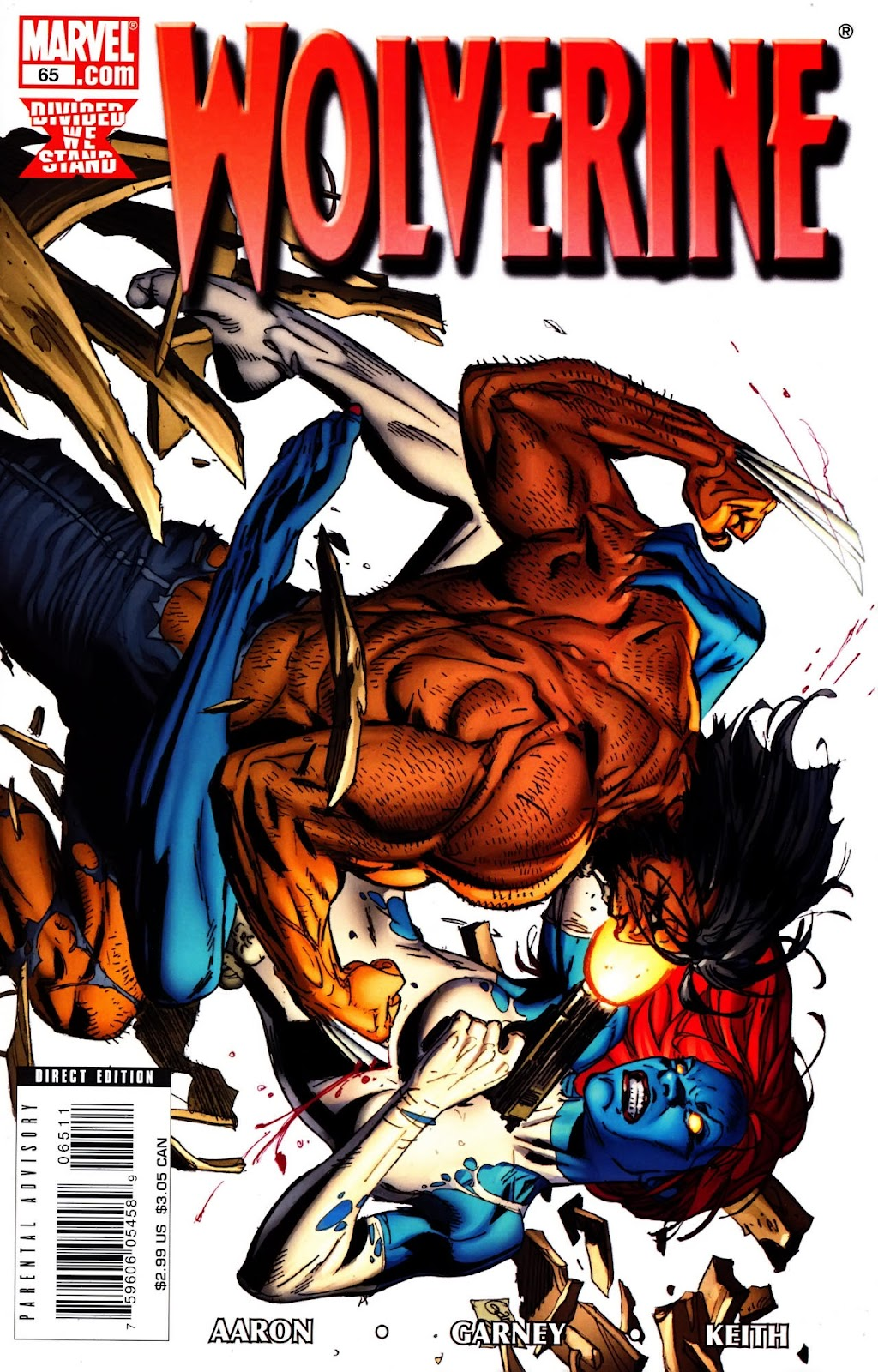 Read online Wolverine (2003) comic -  Issue #65 - 1
