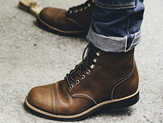 red wing shoes-handmade custom men's shoe brands