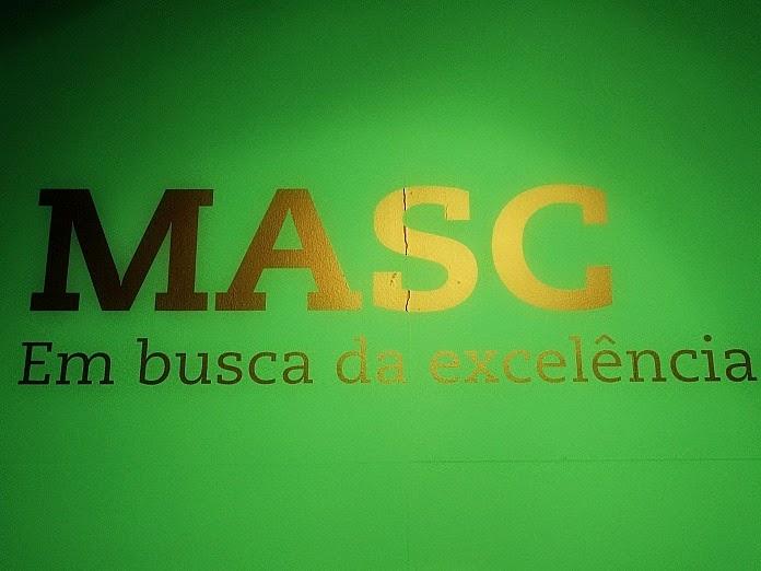 Masc, o Museu de Arte de Santa Catarina, localizado na capital, Florianópolis.