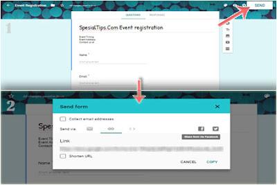 Cara Membagikan Google Formulir Di Komputer