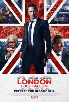 Londres Bajo Fuego (2016) Bluray 1080p Latino-Ingles