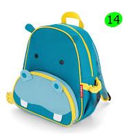 mochila de hipopotamo personalizable de tutete.com