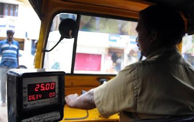 Price of auto rickshaws over cabs