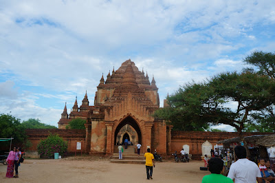 Candi Dhammayangyi di Kota Bagan