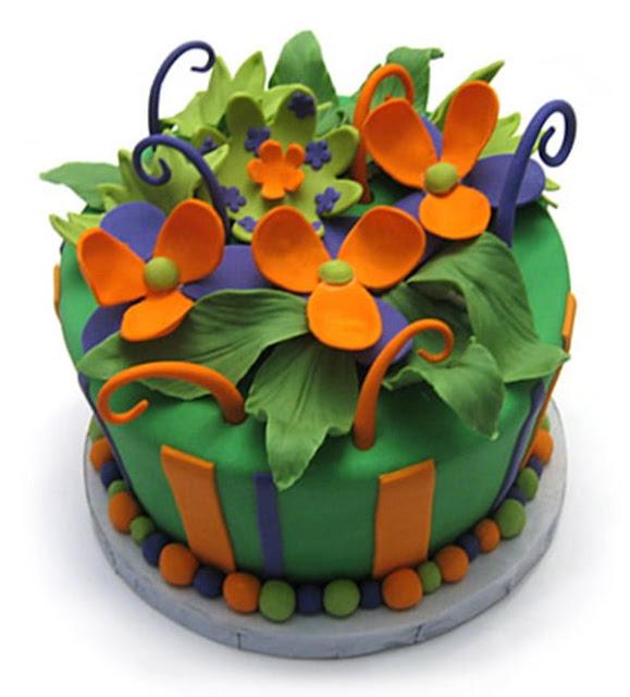happy birthday flowers pics