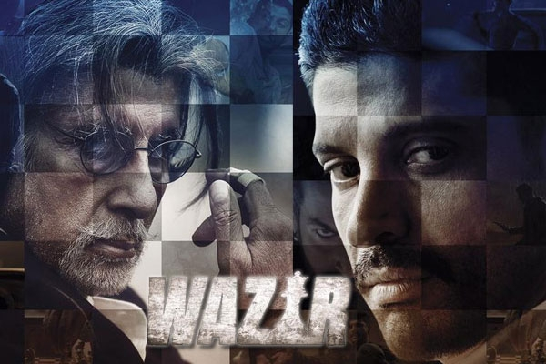 Latest Farhan Akhtar, Amitanh Bachchan Movie Wazir (2016) box office collection Verdict (Hit or Flop) wiki, report New Records, Overseas day and week end.