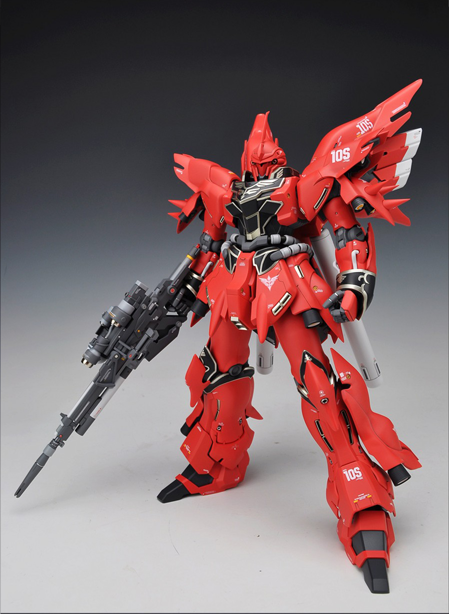 GUNDAM GUY: MG 1/100 Sinanju [OVA Ver.] - Customized Build