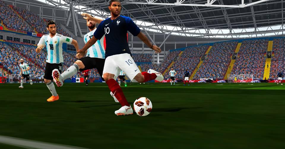 b122fff5b1b6 PES 6 Adidas Telstar World Cup 2018 Knockout Round Ball (Red/Black)