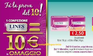 Logo Fai la Prova del 10 : richiedi il carnet da 10 euro in buoni sconto