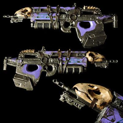 Bad Juju Destiny Exotic Pulse Rifle 3D Print