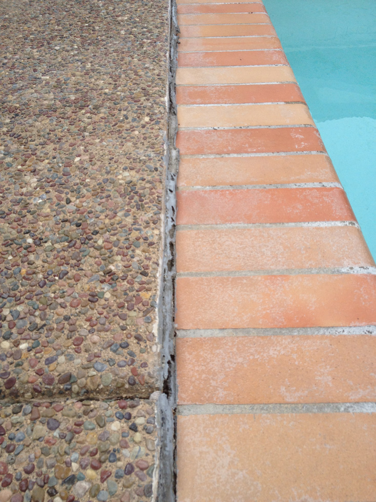 Wine Country Pools And Supplies Replacing The Caulking