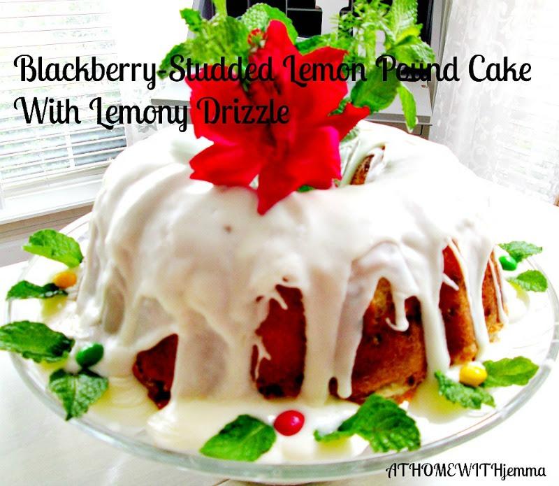 Athomewithjemma-dessert-cake-poundcake-homemade-recipe-lemon-blackberries