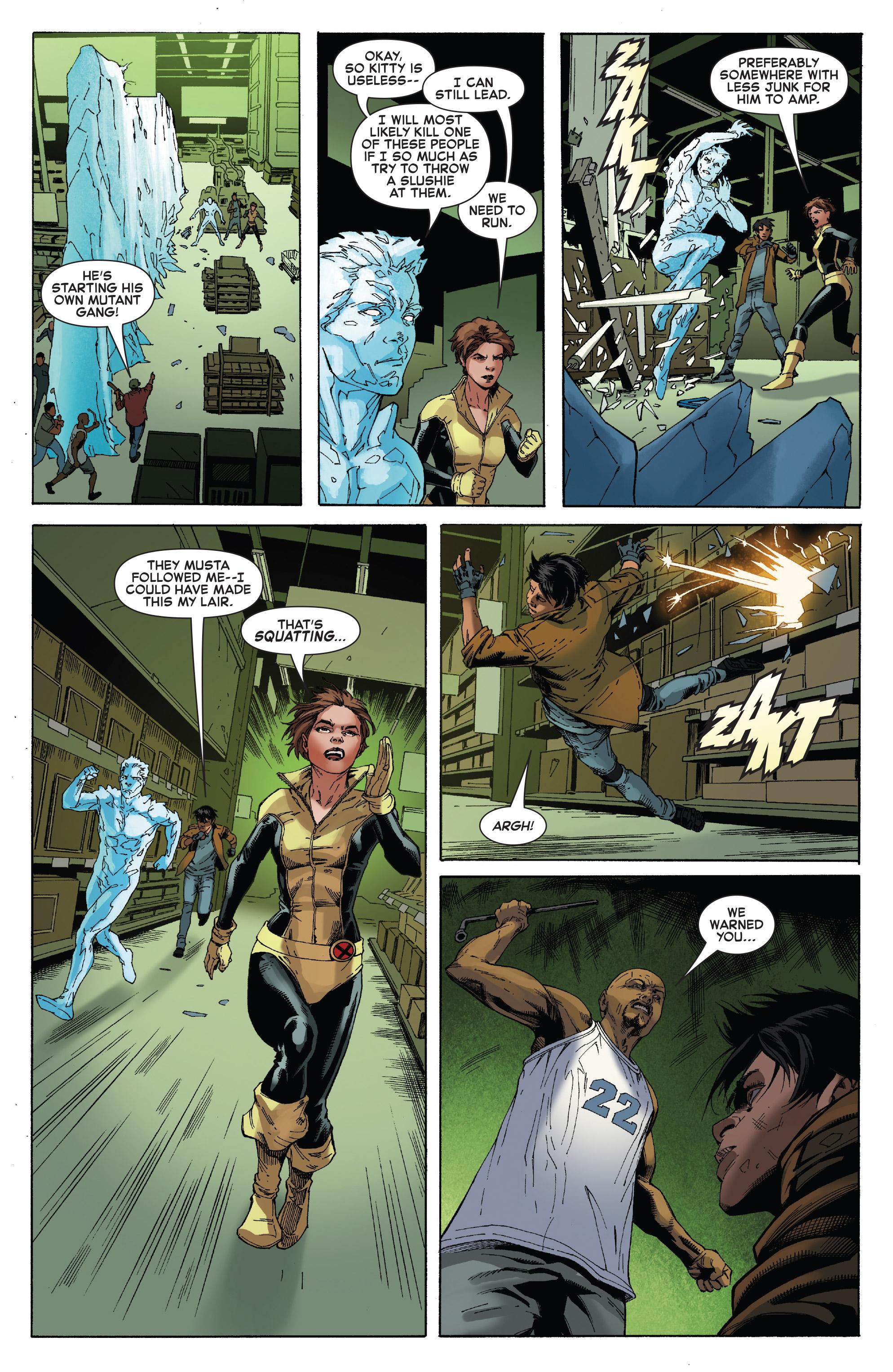 Read online Iceman (2017) comic -  Issue #2 - 12