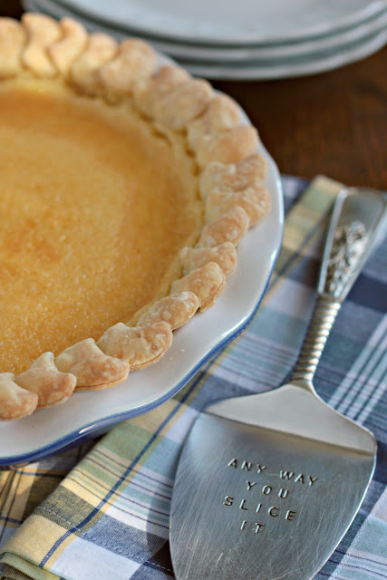 lemon chess pie 1