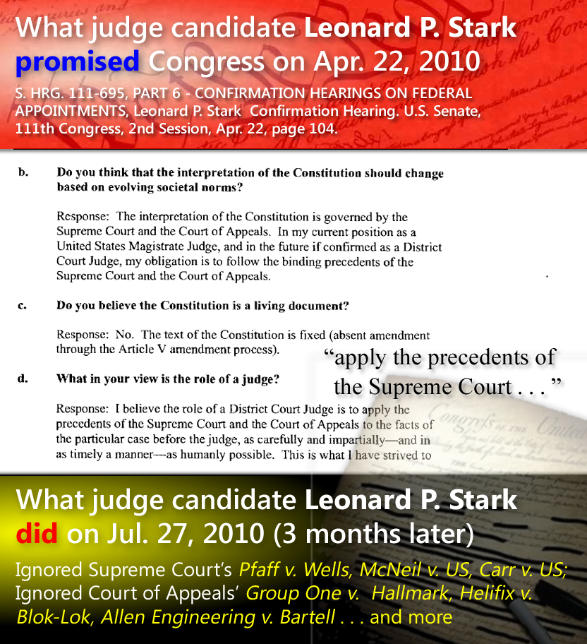 Magistrate Judge Leonard P. Stark Confirmation Hearing, Apr. 22, 2009
