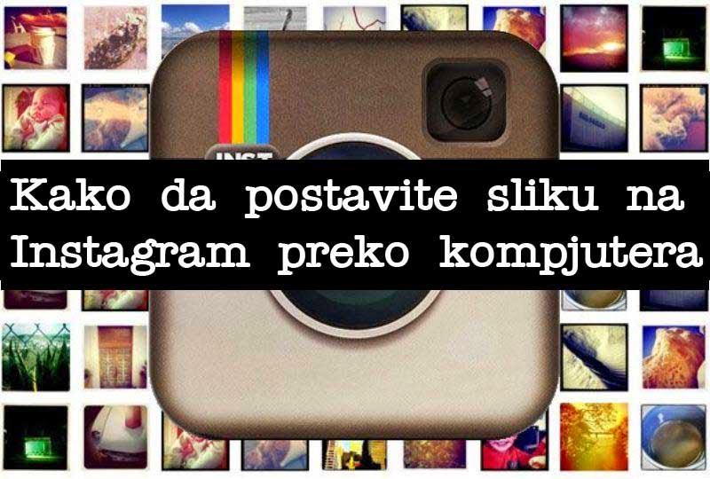 Postavljanje slike na Instagram
