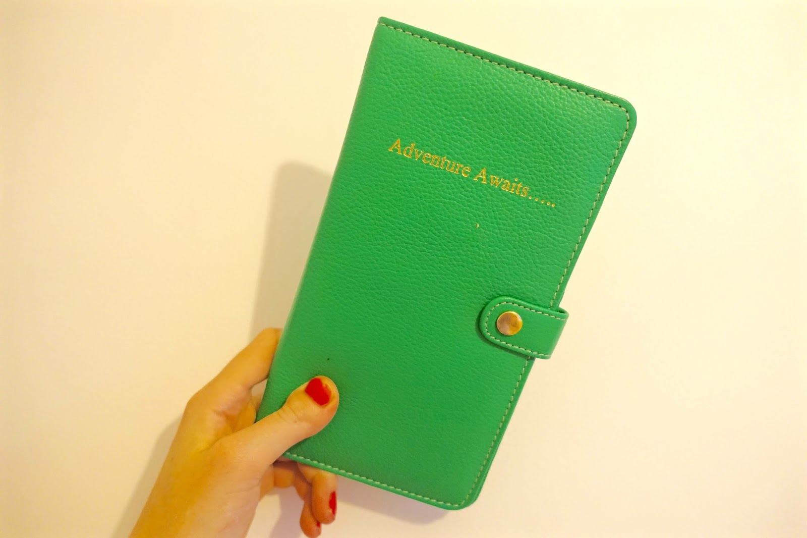 adventure awaits passport wallet