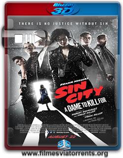 Sin City 2: A Dama Fatal Torrent - BluRay Rip 3D HSBS Legendado (2014)