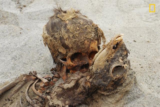 Sacrificio masivo de niños en Huanchaquito