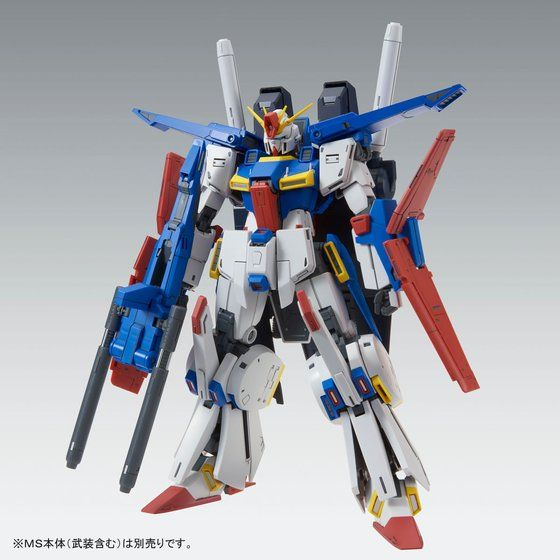 P-Bandai: MG 1/100 Enchanced ZZ Gundam Ver. Ka Extension Parts