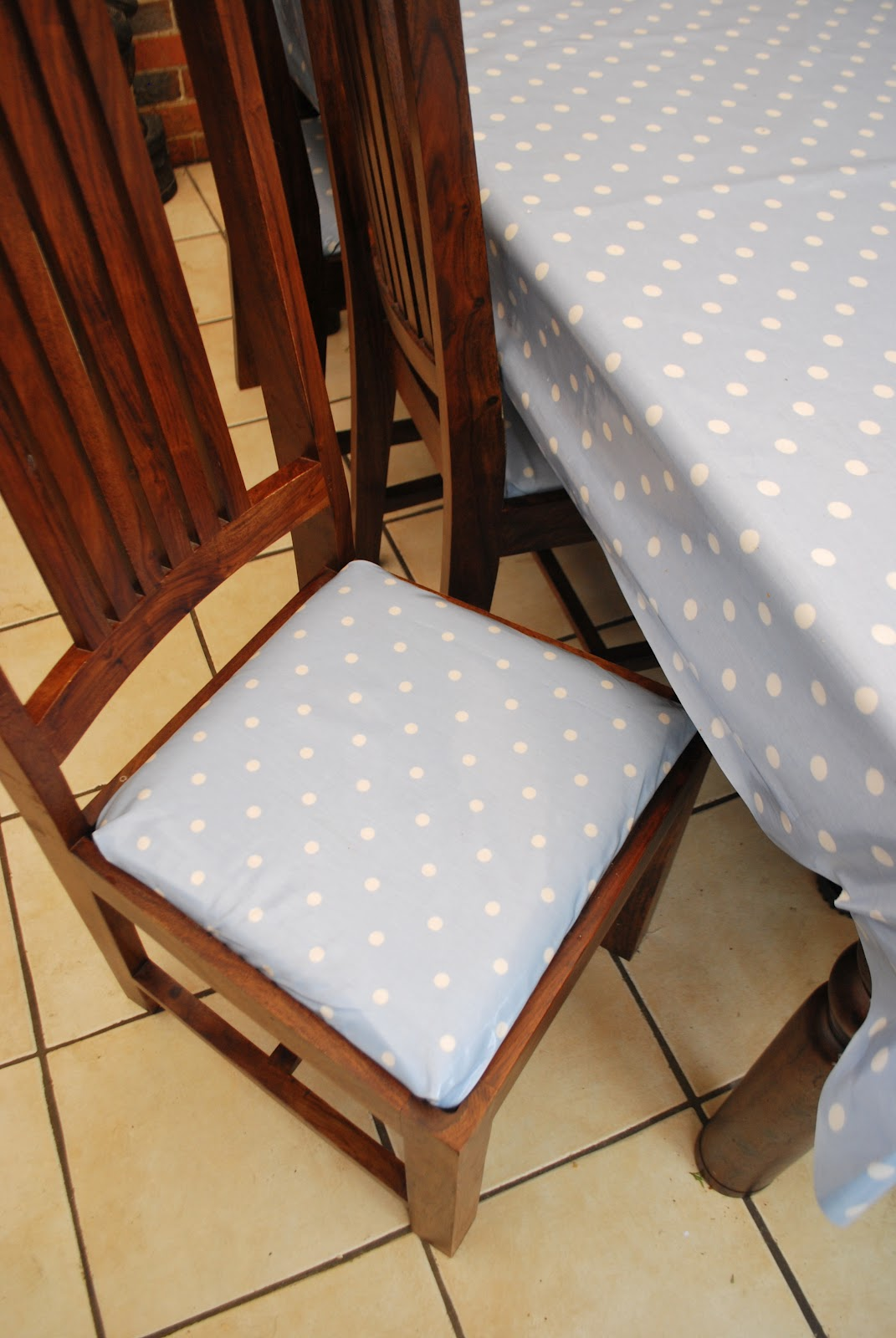 chair seat covers dunelm white dining room chairs rosie 39s rambling ragbag spots glorious