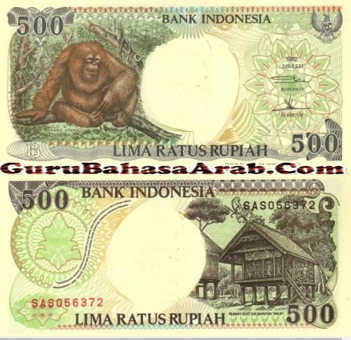 Nominal Uang Dalam Bahasa Arab