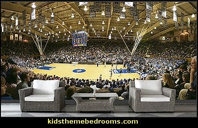 Duke Basketball wall mural  basketball bedroom ideas - Basketball Decor - basketball wall murals - basketball bedding - basketball wall decal stickers - basketball themed bedrooms - basketball bedroom furniture - basketball wall decorations - Basketball wall art - Basketball themed rooms - basketball bedroom furniture - NBA bedding - Boys basketball theme