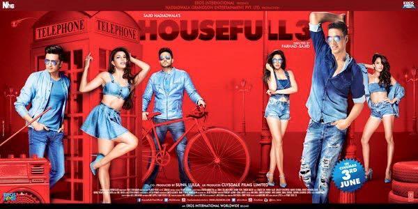 हाउसफुल फिल्म - 3 जून को रिलीज