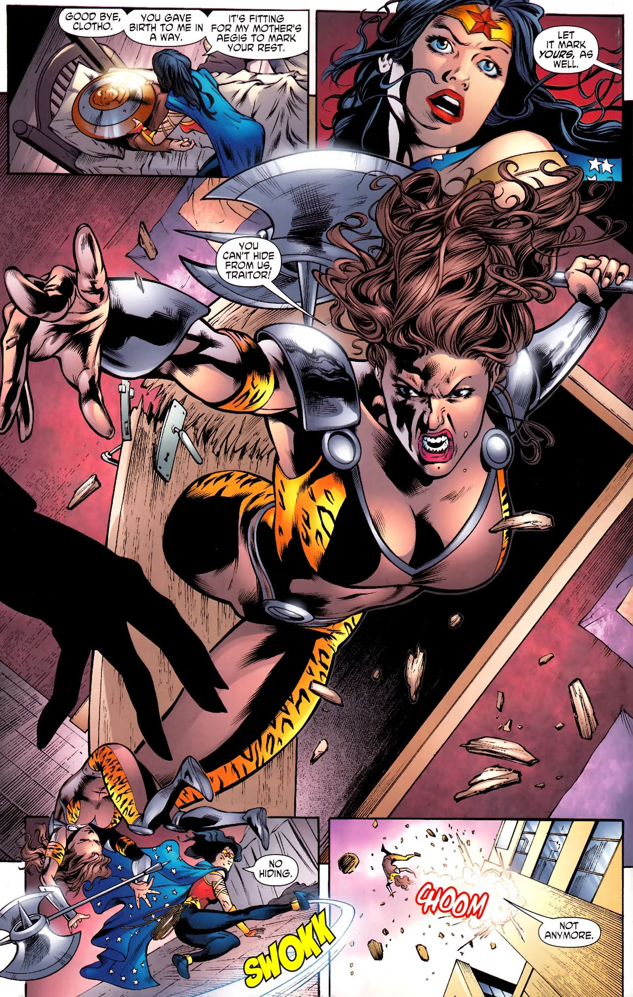Read online Wonder Woman (2006) comic -  Issue #610 - 15