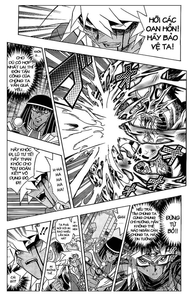 YUGI-OH! chap 318 - cùng nhau chống lại bóng tối trang 13