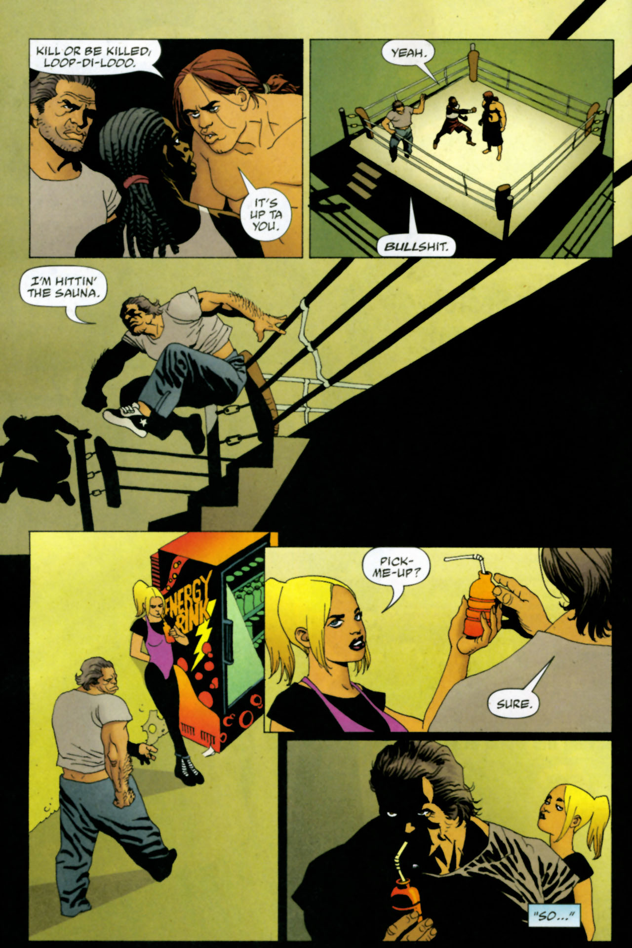Read online 100 Bullets comic -  Issue #85 - 11